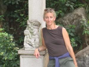 Rebekah in China 2007